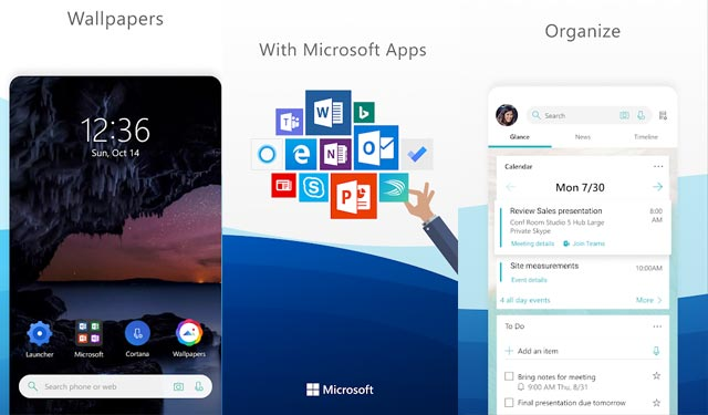 Microsoft Launcher Android Terbaik