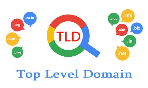 Top Level Domain Example in 2020