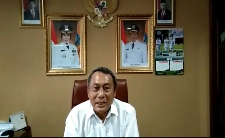 Cegah Corona, Wakil Bupati Serang : Mari Bersama Taati Anjuran Pemerintah