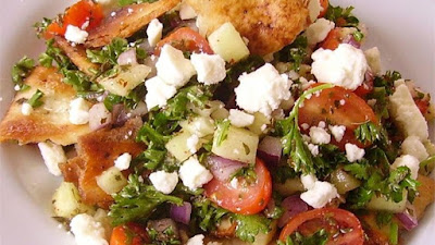 known Middle Eastern salads and a standard dish on the Arabic Fattoush Salad Recipe