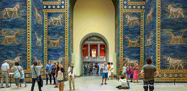 Os Portões de Ishtar, no Museu Pergamon de Berlim