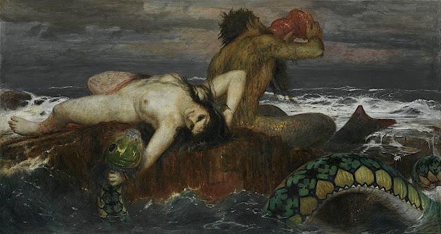 Arnold Böcklin: La nereide