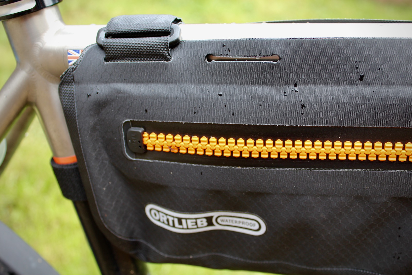 Ortlieb Frame-Pack TopTube Bikepacking Frame Bag