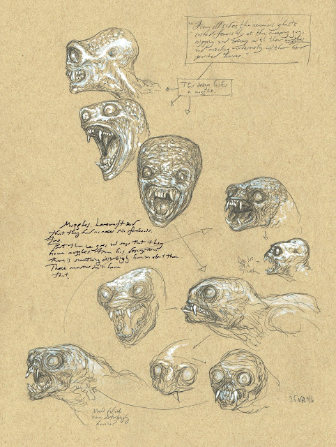 lovecraftian ghast head designs