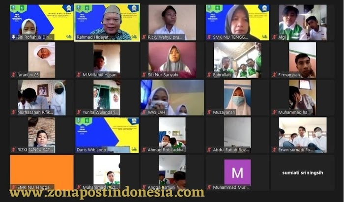 Patuhi PPKM Darurat, SMK NU Tenggarang Gelar MPLS Secara Virtual