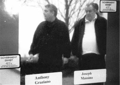 TG Graziano, left, Joe Massino