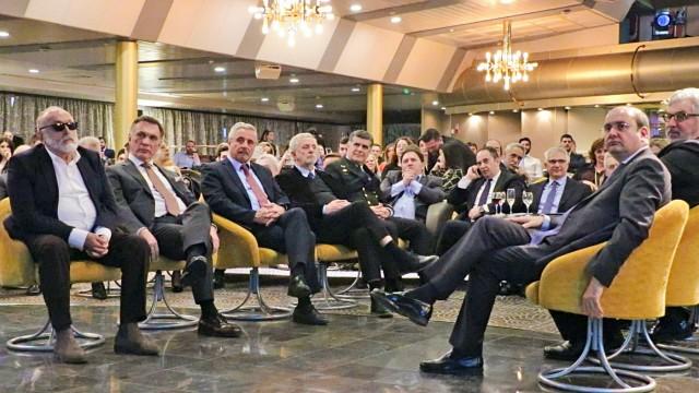Ο Γ. Μανιάτης στην εκδηλωση για τα 30 χρόνια από την ίδρυση του Ναυτιλιακού Τμήματος του Πανεπιστημίου Πειραιώς