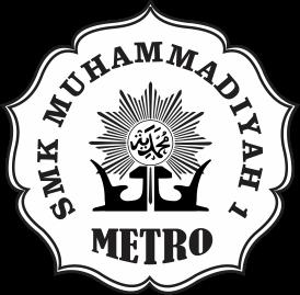 Logo SMK Muh 1 Metro