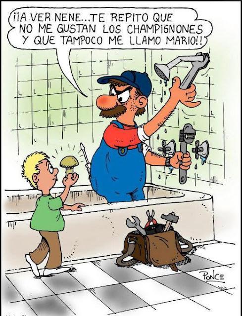Humor fontaneros, plomeros, lampistas