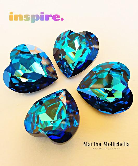 Martha Mollichella Swarovski Crystals bead embroidery