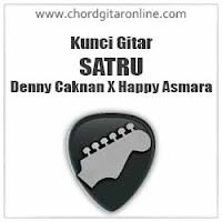 Chord Kunci Gitar Denny Caknan X Happy Asmara