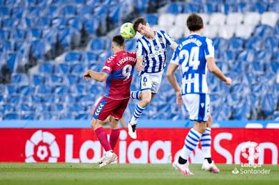 ملخص واهداف مباراة ريال سوسيداد والتشي (2-0) الدوري الاسباني