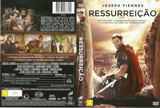 Capa DVD Ressurreição