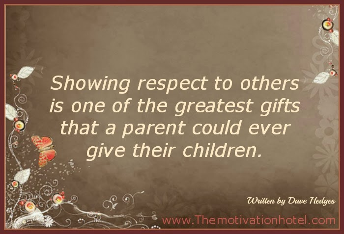 The Motivation Hotel: Showing Respect