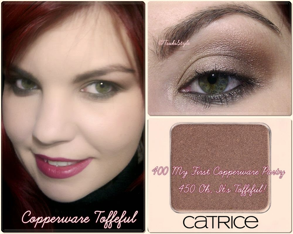 look toffeful copperware catrice eyeshadow