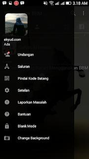 BBM Mod Trans ChangeBackground Apk v3.2.0.6 Transparan Clone Terbaru By Trangga Ken