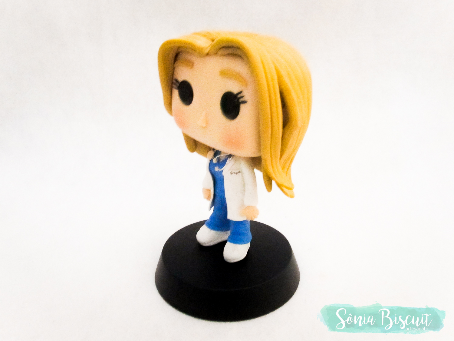 Sonia Biscuit, Biscuit, Funko, Funko Pop, Greys Anatomy, Meredith Grey