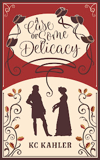 Book Cover: A Case of Some Delicacy by KC Kahler