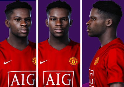 PES 2019 Faces Louis Saha 2007 by AliReza