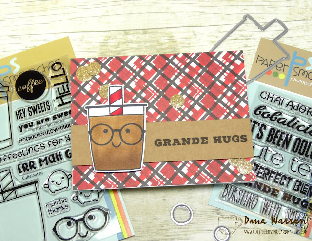 Dana Warren - Kraft Paper Stamps - Paper Smooches