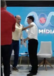 Em Guarabira Em meio a debate Dr. Wellington Oliveira fica solidária com candidato a vice-prefeito do PDT  Jader Filho