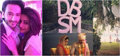 TV-Actor-Dhruv-Bhandari-Shruti-Merchant-wedding2