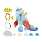 My Little Pony Land & Sea Snap-on Fashion Rainbow Dash Brushable Pony