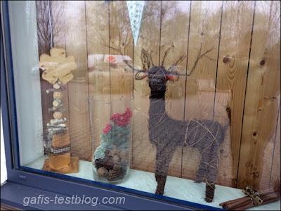 weihnachtliche Schaufenster Deko