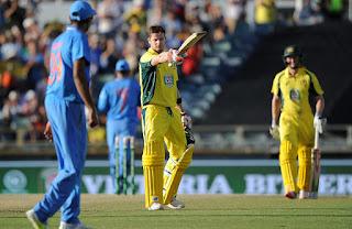 Australia vs India 1st ODI 2016 Highlights