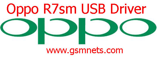 Oppo R7sm USB Driver Download