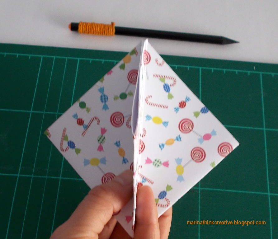 Tutorial origami by Marina Zanotta