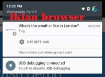 Cara Menghilangkan Iklan Notifikasi di Browser Chrome