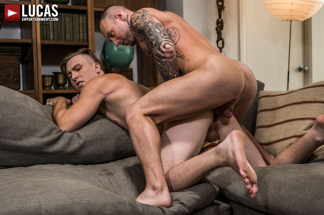 LucasEntertainment - DYLAN JAMES AND ANGEL DURAN SHARE TOM FAULK