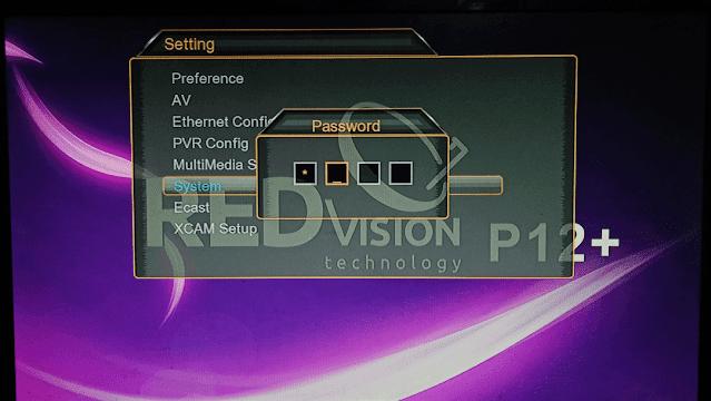 Redvision P12 screen shot 3