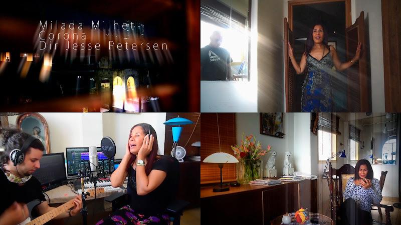 Milada Milhet - ¨Corona¨ - Videoclip - Director: Jesse Petersen. Portal Del Vídeo Clip Cubano. música cubana. Cuba.