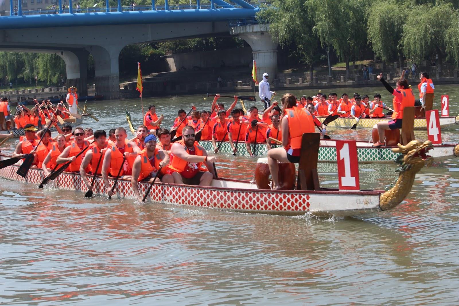 Hopkins Nanjing Center Blog Nanjing City Dragon Boat