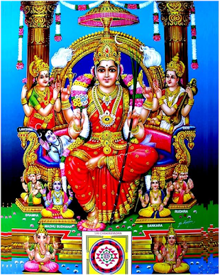 ललिता सहस्रनाम स्तोत्रम् Lalitha Sahasranamam Stotram Sanskrit Lyrics