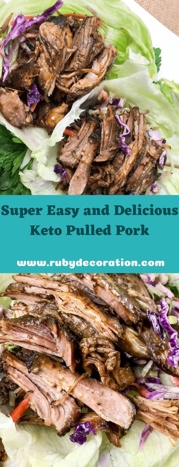 Super Easy and Delicious Keto Pulled Pork