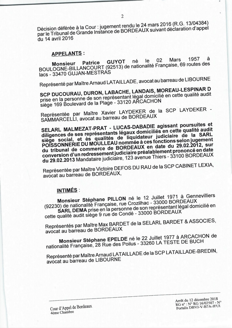 0002 condamnation justice notaire arcachon dans Notaire