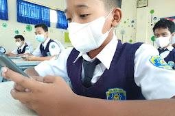Tatap Muka Kelas Fullday : PTS Di SMP Mutual Tetap Berbasis E-learning