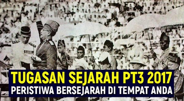 Panduan Lengkap Kerja Kursus Sejarah PT3 2017