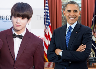 BTS jungkook and Obama