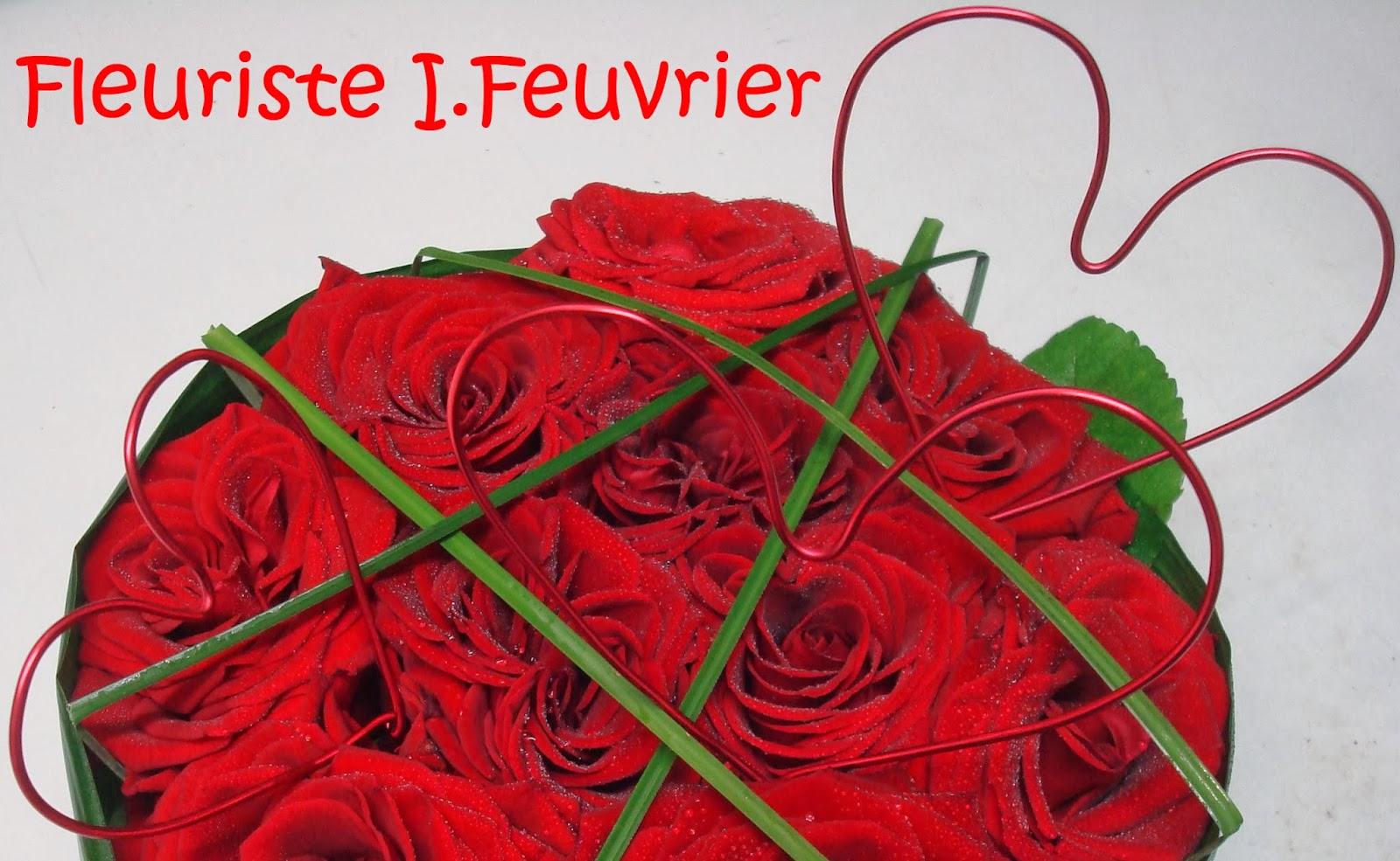 fleuriste isabelle feuvrier 14 f vrier jour de la saint. Black Bedroom Furniture Sets. Home Design Ideas
