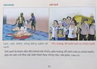 Tranh nhân quả Phật giáo 20