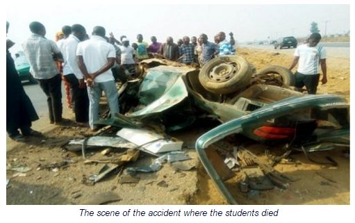 4 uniabuja students died auto crash