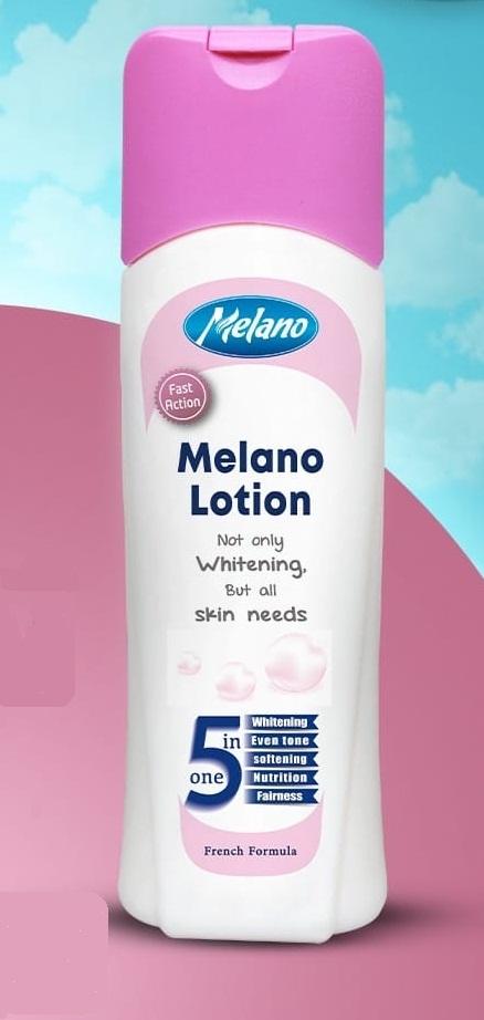 """""""ميلانو لوشن 5×1""""لترطيب وتفتيح وتوحيد لون البشرة ونعومة وتغذية البشرة""""Melano Lotion"""""""