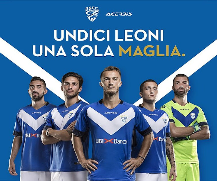 7962140c0 Italian Serie B side Brescia Calcio in early August released their new home  kit for the 2018-2019 season. The new Brescia Calcio 18-19 kit is again  made by ...