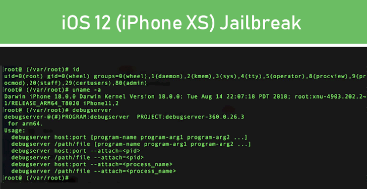 Pangu Hackers have Jailbroken iOS 12 on Apple's New iPhone XS