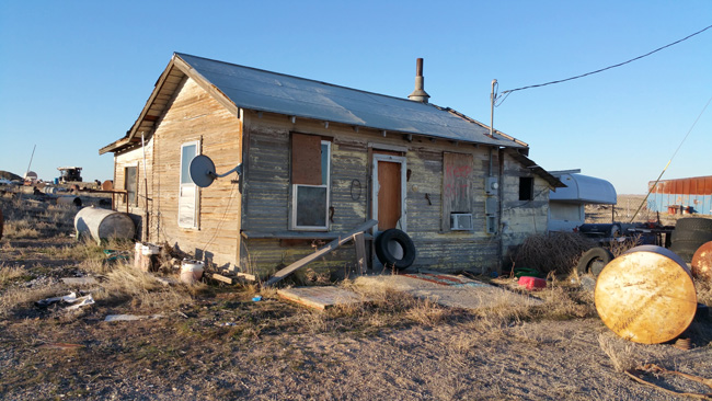 Abandoned House in Cisco Utah ghost town