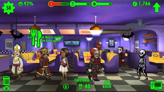 شرح لعبة Fallout Shelter وتحميل نسخة مهكرة اخر اصدار
